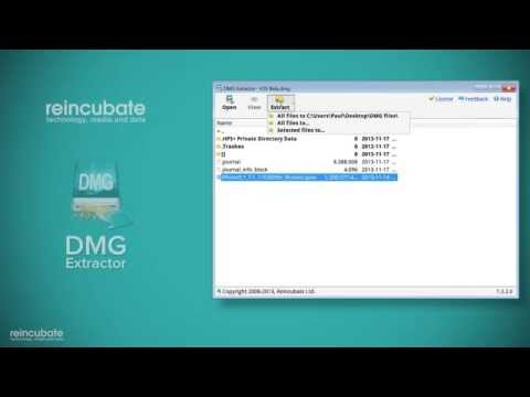 How to install and activate DMG Extractor - YouTube