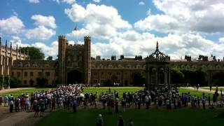 Trinity College Cambridge, Singing from the Towers