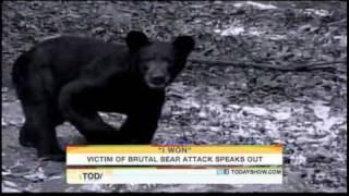 !!MAN ATTACKED BY BEAR LOSES EYE!!