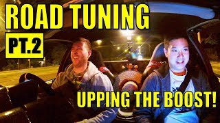TURNING UP THE BOOST! ROAD TUNING THE TURBO V6 COMMODORE PT.2