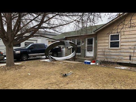 US plane scatters debris over Denver homes after engine failure