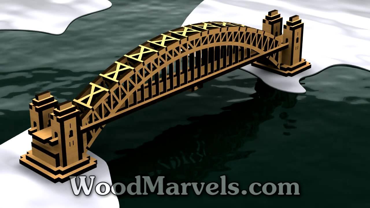 Sydney harbour bridge 3d assembly animation 720hd youtube malvernweather Choice Image