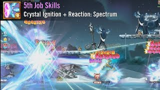 Ayumilove MapleStory Illium 1st, 2nd, 3rd, 4th, 5th Job Skills Preview