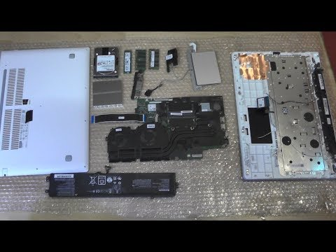 Full Disassembly Lenovo IdeaPad 700 Repair Replace Cleaning Fan