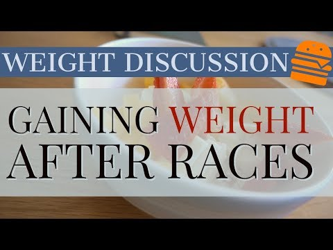 Why Do I Gain Weight After Races? Cyclist Weight Discussion