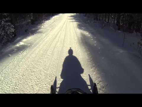 Snowmobile Trails Mercer Wisconson