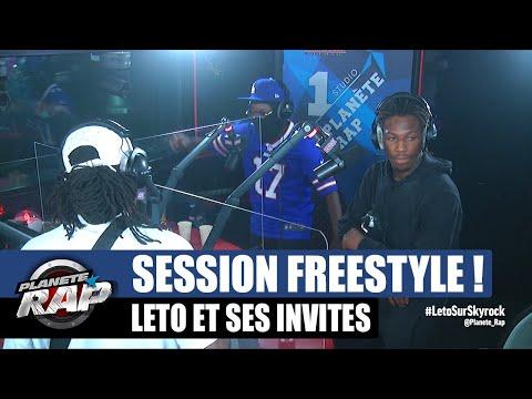 Youtube: Leto – Session freestyle avec Cheu-B & Kepler! #PlanèteRap