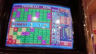 Keno Touch Easy Keno Live Play $1.00 Hi everyone! I love playing sl...