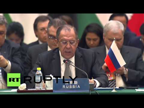 China: No-one will feel safe until IS expansion is neutralised - Lavrov