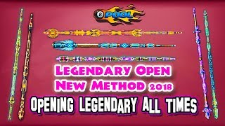 8 BALL POOL | GET FREE LEGENDARY OPEN NEW TRICK METHODS | ALL LEGENDARY OPENING TIMES - 100% WORKING