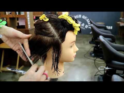 여자단발머리비교