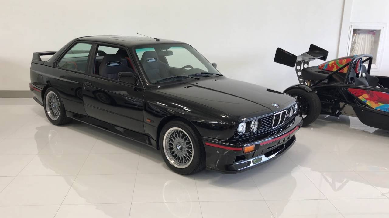 E30 BMW M3 Sport Evolution with only 8000 miles Walkaround 4k