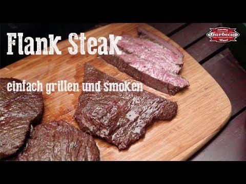 flank steak einfach grillen smoken youtube. Black Bedroom Furniture Sets. Home Design Ideas