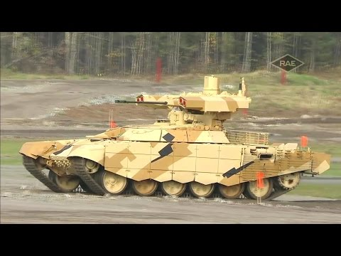 Russian Arms Expo 2015 - Military Assets Live Firing [720p]