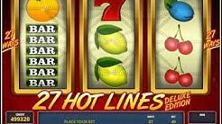 HOT 27 LINES DELUXE Spielgeld Casino Community Casoony mit 100 Freispielen Casino Bonus
