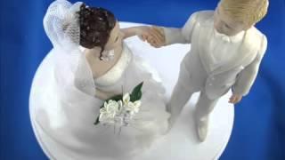 видео фигурки жениха и невесты