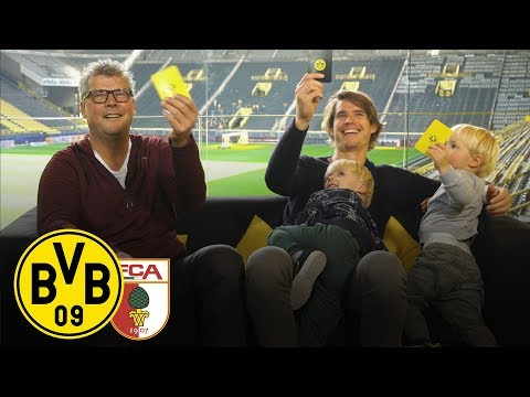 Hitz & Kids at the BVB Matchday Magazine | BVB - FC Augsburg | Matchday 7