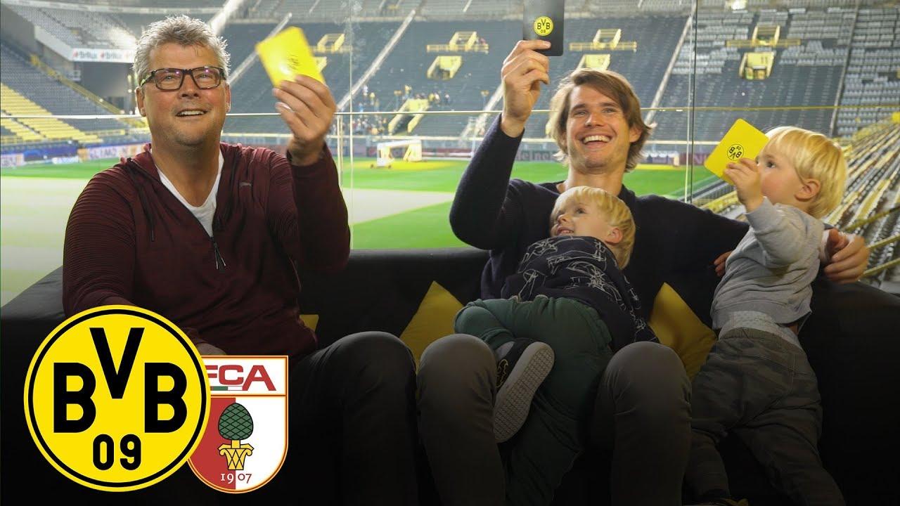 Hitz & Kids im Feiertagsmagazin | BVB - FC Augsburg | 7. Spieltag