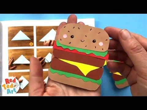 EASU BURGER CORNER BOOKMARK DIY for Back To School | Easy & Cute School Supplies