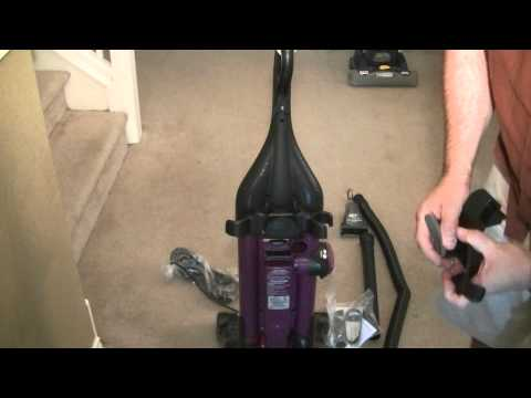Eureka Vacuum Air Speed Pet Vacuum Cleaner AS1008 Type AX Un Box Assembly And Feature Review