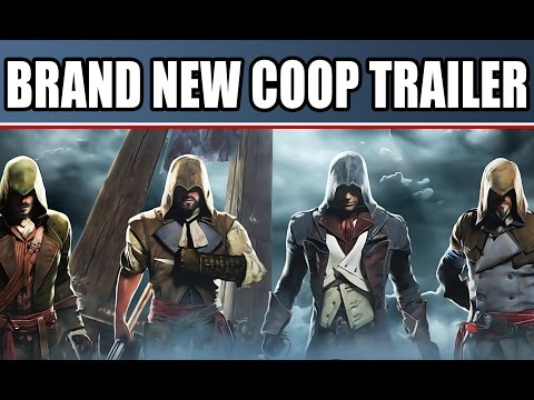 Assassin's Creed Unity New Gameplay Trailer: Coop & Free Roam Open World Paris On PS4, Xbox One, PC
