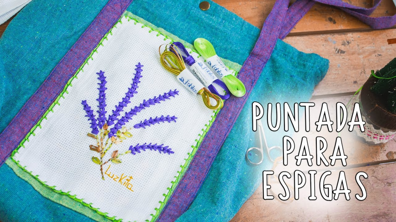 decorativas stitchesESPIGAS Luzkita faciles Con Hand Puntadas mano a embroidered 2Easy Bordado decorativas qzt6w