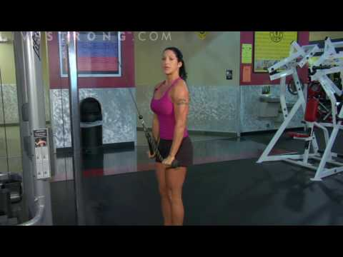 How to Do Triceps Rope Pulldowns