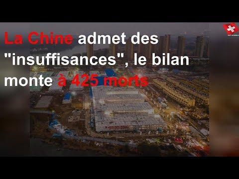 La Chine admet des