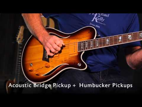 Michael Kelly Hybrid Special, Electric Guitar with Acoustic Sounds
