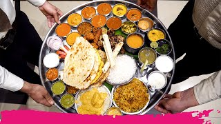 The BIGGEST Thali in Mumbai - DARA SINGH THALI 44 ITEMS! | Mumbai, India