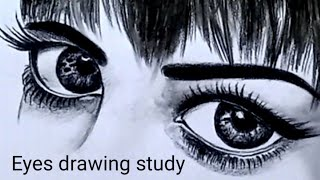 Eyes Drawing Step By Step | Online Drawing Class