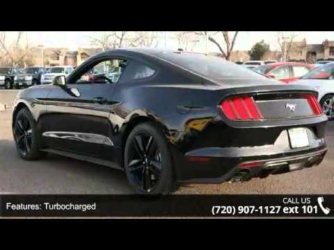 Phil Long Ford Denver >> 2015 Ford Mustang EcoBoost Premium - Phil Long Ford of De... - YouTube