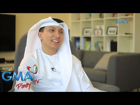 Becoming Pinoy: Meet the Half-Filipino Half-Emirati Saeed Al