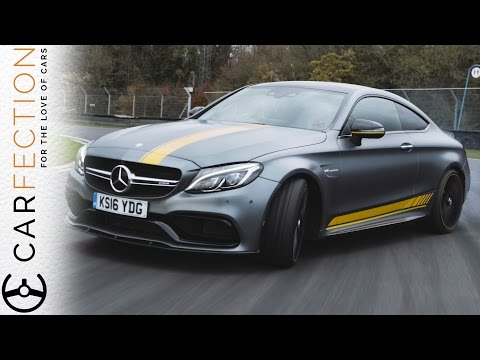 Mercedes-AMG C63 Coupé Edition 1: Smoking Rubber, Killing Tires - Carfection