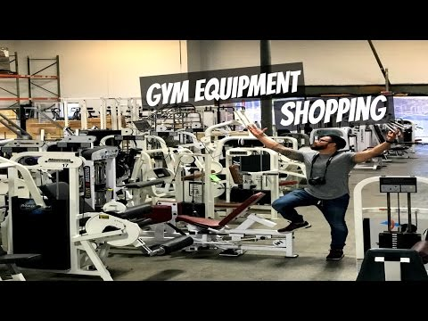 Gym Equipment Shopping