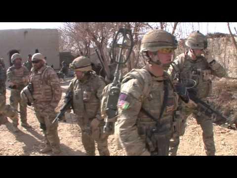 Irish Guard Patrol, Shaarmi Noorzai Afghanistan 2010