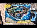 *BRAND NEW ULTRA RARE CARDS!* Opening The TOWERING SPLASH GX POKEMON BOX! (Team Up)