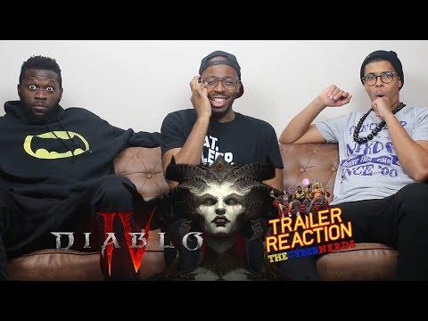 Diablo IV Official Cinematic Trailer Reaction