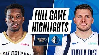 GAME RECAP: Mavericks 125, Pelicans 107