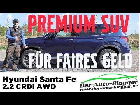 Hyundai Santa Fe Premium 2.2 CRDi -  Test, Review und Fahrbericht / Testdrive