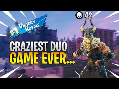 Craziest duo squad game ever... | 42 KILL DUO SQUAD GAME w/ Glawkie