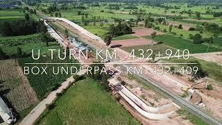 U-Turn & Box Underpass Km.432