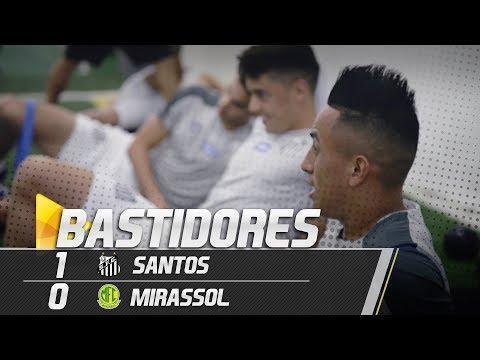 Santos 1 x 0 Mirassol | BASTIDORES | Paulistão (09/02/19)