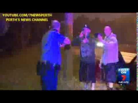 Violent Arrest | 7News Perth | 27/09/2013