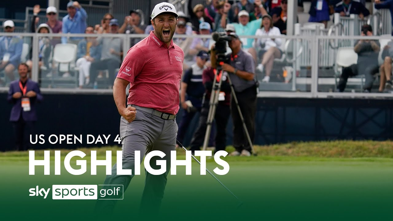 Jon Rahm claims first major title at Torrey Pines! ⛳   US Open Day 4 Highlights