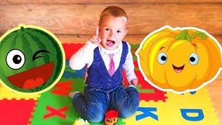 Учим Названия Овощей   Английский язык для Детей