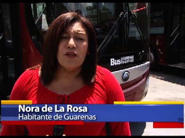 14 OCT 2013 MIcro Inicia Servicio del Bus Guarenas-Guatire Videos De Viajes