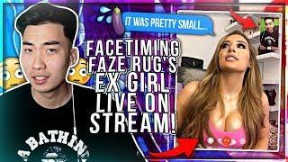 I ask Faze Rug Ex Girlfriend weird questions...