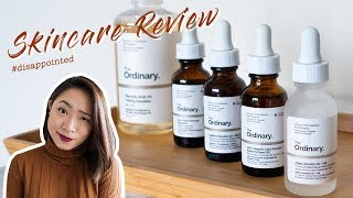 Disappointed! The Ordinary Skincare Review|其實沒那麼好用的 The Ordinary 保養品心碎實測