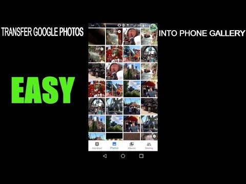 How to save photos from google drive to your phone